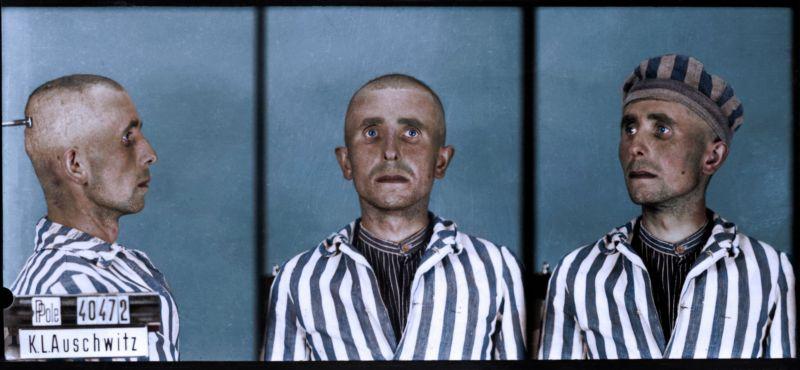 【リアル】カラー着色されたドイツ軍によるユダヤ人大量虐殺(ホロコースト)の写真、絶望感ヤバい・・・・・(画像)・4枚目