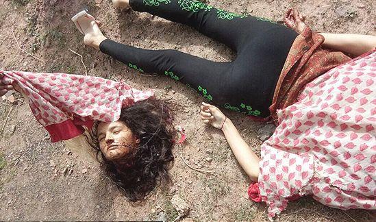 【閲覧注意】詳細不明、列車に轢かれて首チョンパの外人女性・・・・・合掌(画像)・2枚目