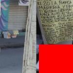 【閲覧注意】メキシコの麻薬カルテル、勢力争いからとんでもないモノを敵対勢力のシマに放置する・・・・・(画像)