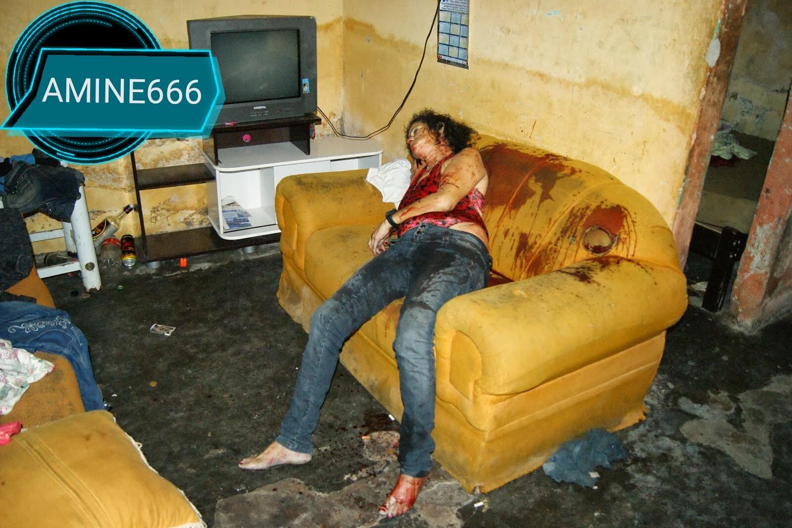 【閲覧注意】麻薬絡みのトラブルで殺された外国人女性、表情ヤバい・・・・・(画像)・2枚目