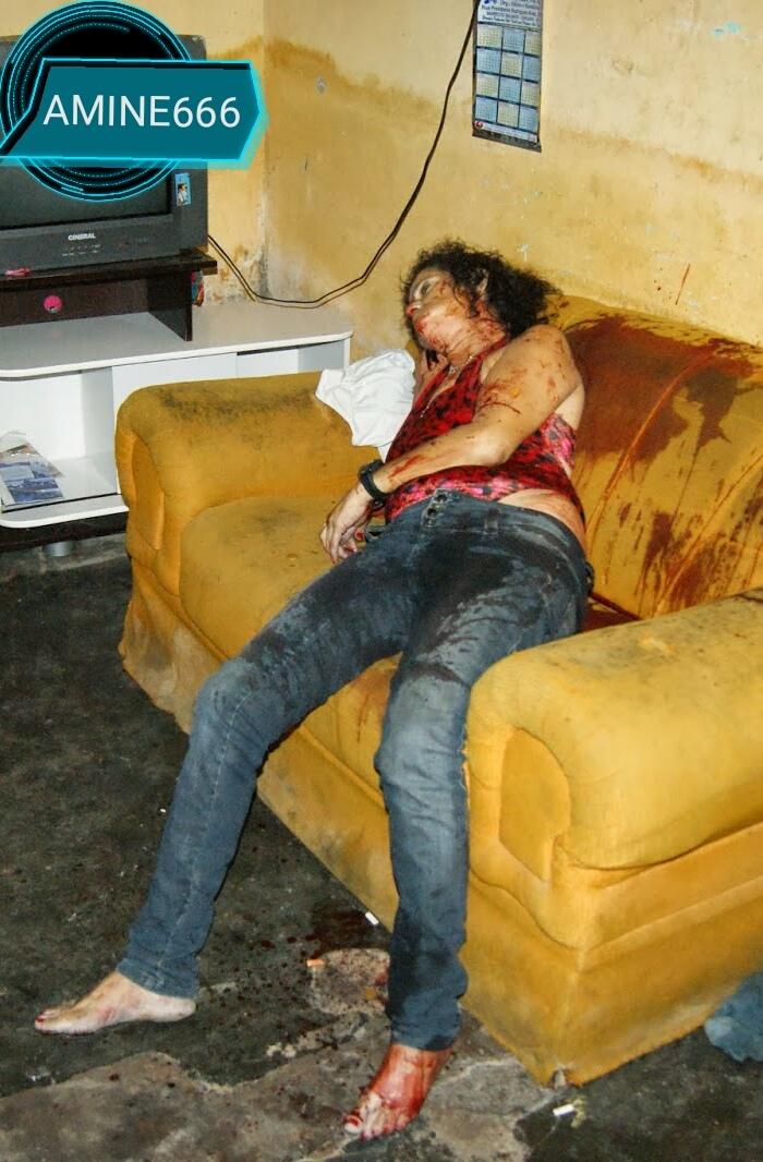 【閲覧注意】麻薬絡みのトラブルで殺された外国人女性、表情ヤバい・・・・・(画像)・3枚目