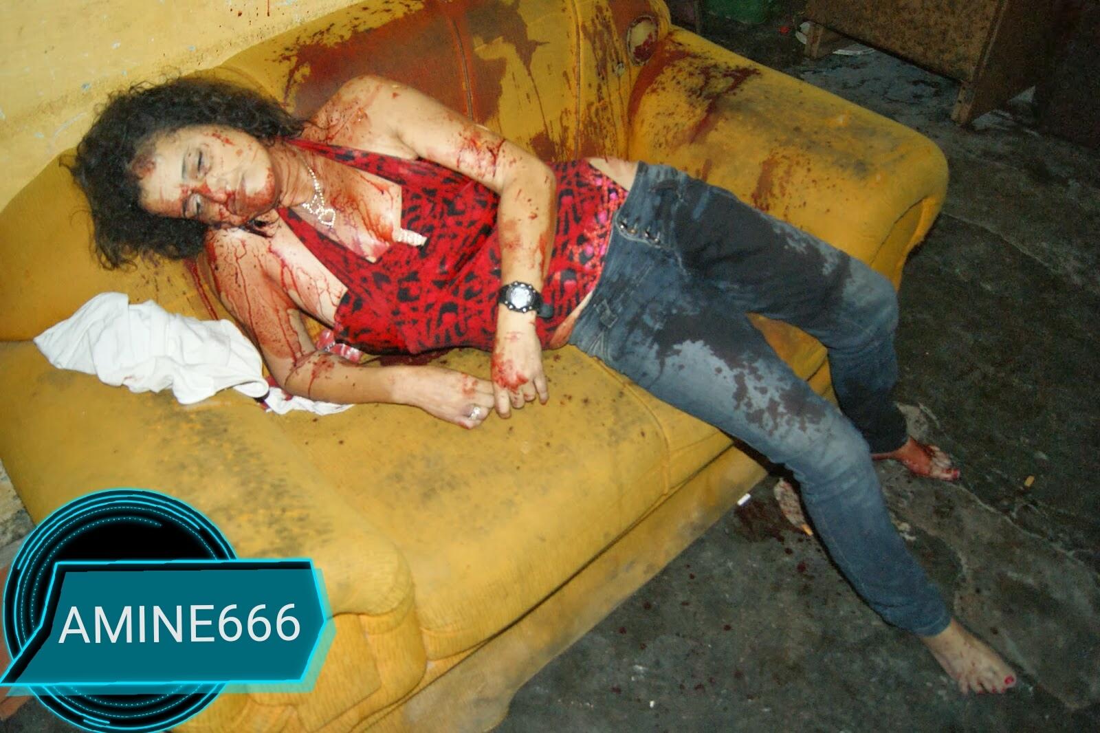 【閲覧注意】麻薬絡みのトラブルで殺された外国人女性、表情ヤバい・・・・・(画像)・4枚目
