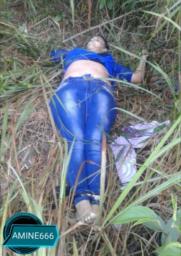 【遺体注意】道路脇に捨てられた女性の死体、犯人は別れた夫ってモロバレだろそれ・・・・・(画像)・1枚目
