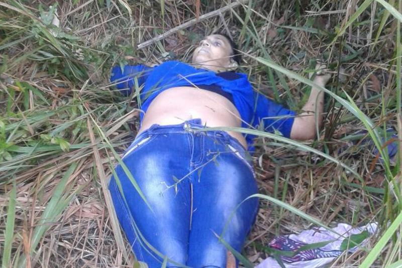 【遺体注意】道路脇に捨てられた女性の死体、犯人は別れた夫ってモロバレだろそれ・・・・・(画像)・4枚目