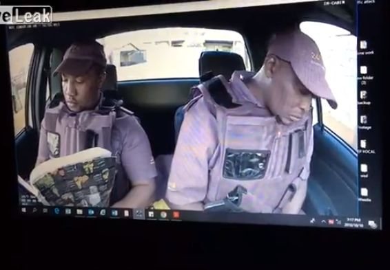 【世紀末都市】停車中窓の外からいきなり射殺される武装警備員、南アフリカ怖過ぎ・・・・・(動画)・1枚目
