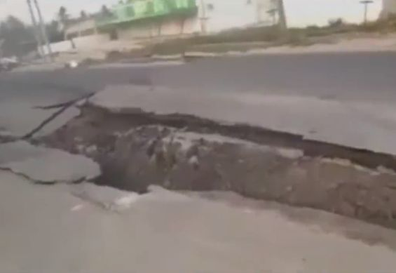 【地震動画】地震大国インドネシア、大きな揺れと地割れでパニックになる住人・・・・・(動画)・2枚目
