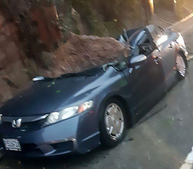 【絶望】南米グアテマラで崖の崩落事故、運転手男性の生死は・・・・・(画像)・2枚目