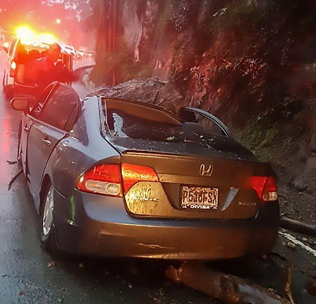 【絶望】南米グアテマラで崖の崩落事故、運転手男性の生死は・・・・・(画像)・3枚目
