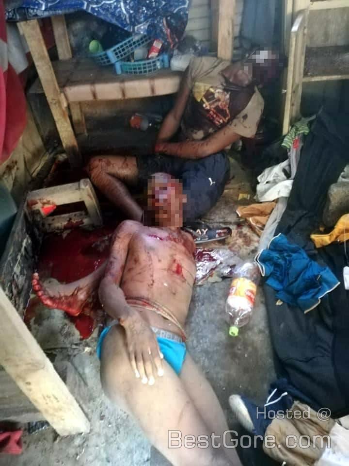 【南アフリカ】警備員を射殺した銃泥棒の二人組、警察に追い詰められ無事射殺される・・・・・(画像)・1枚目