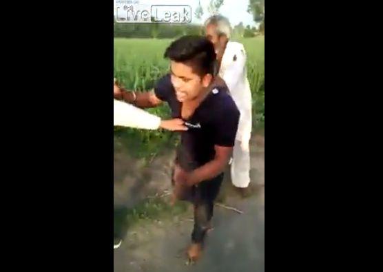 【因果応報】6歳の少女をレイプしたインド人男性、現行犯で捕まってボコボコにされる・・・・・(動画)・1枚目