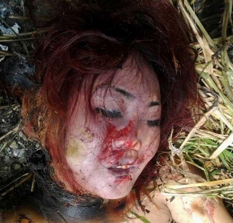 【悲惨】タイの売春婦さん、ヤラれたあとボッコボコにされた上燃やされる・・・・・(画像)・1枚目