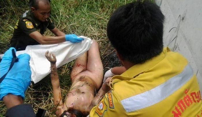 【悲惨】タイの売春婦さん、ヤラれたあとボッコボコにされた上燃やされる・・・・・(画像)・2枚目
