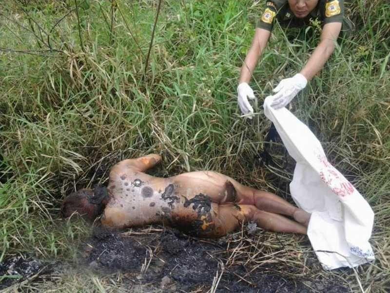 【悲惨】タイの売春婦さん、ヤラれたあとボッコボコにされた上燃やされる・・・・・(画像)・4枚目