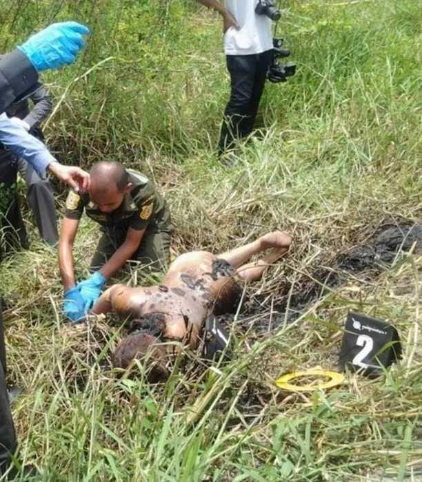【悲惨】タイの売春婦さん、ヤラれたあとボッコボコにされた上燃やされる・・・・・(画像)・5枚目