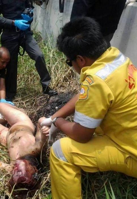 【悲惨】タイの売春婦さん、ヤラれたあとボッコボコにされた上燃やされる・・・・・(画像)・6枚目