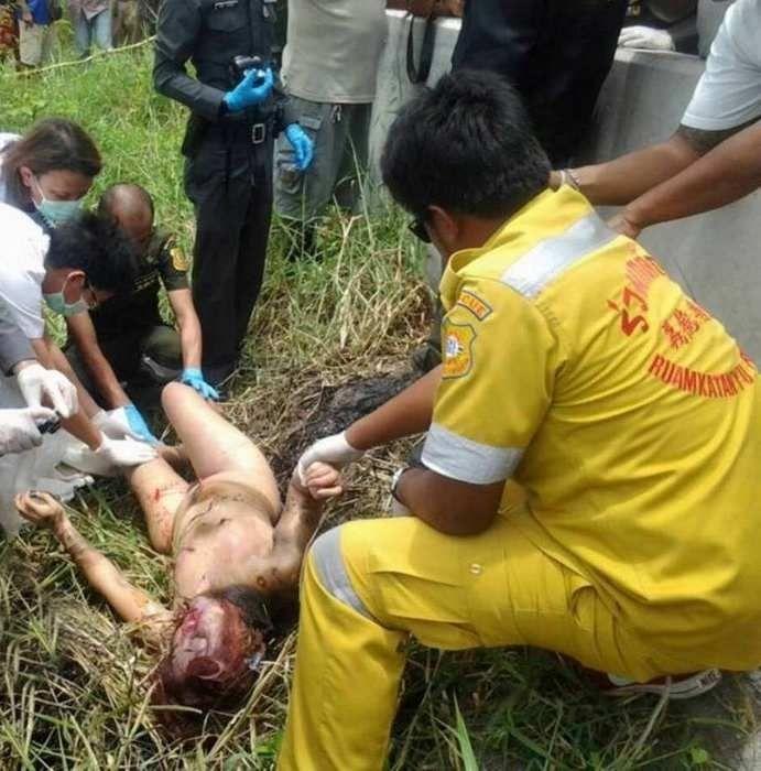 【悲惨】タイの売春婦さん、ヤラれたあとボッコボコにされた上燃やされる・・・・・(画像)・7枚目
