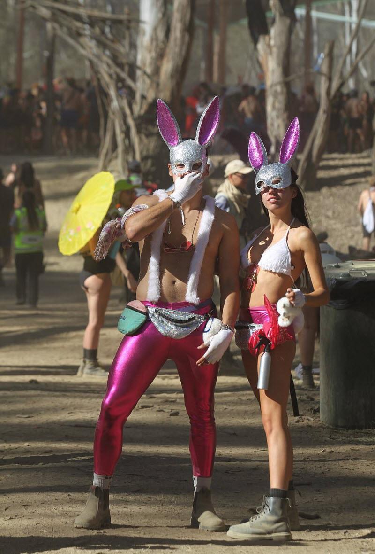 【エロフェス】オーストラリアのお祭りStrawberry Fields Festivalの様子、エロい衣装でクッソ楽しそうwwwww(画像)・9枚目