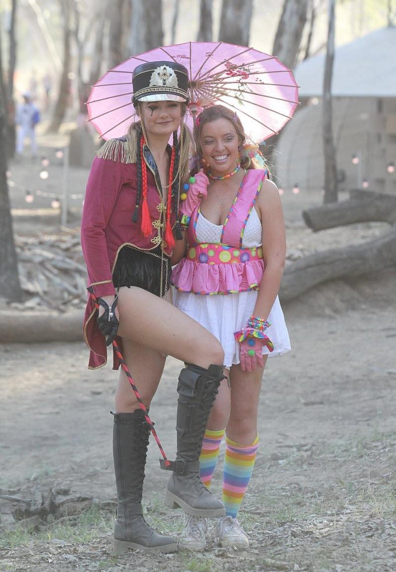【エロフェス】オーストラリアのお祭りStrawberry Fields Festivalの様子、エロい衣装でクッソ楽しそうwwwww(画像)・17枚目