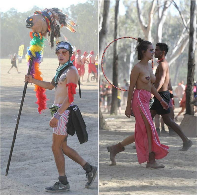 【エロフェス】オーストラリアのお祭りStrawberry Fields Festivalの様子、エロい衣装でクッソ楽しそうwwwww(画像)・28枚目