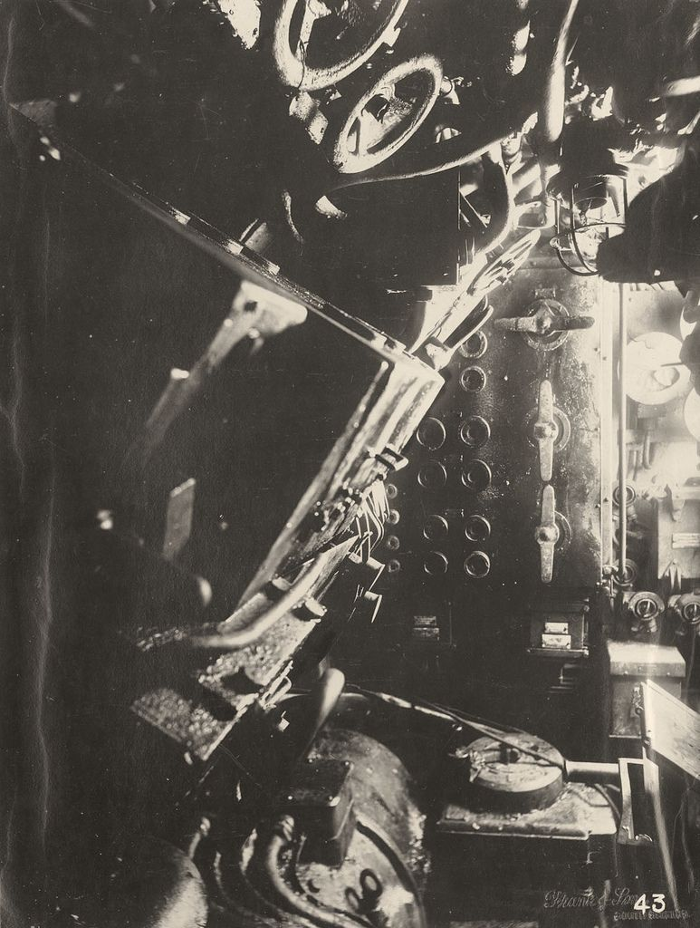 【ドイツの科学力】第一次世界大戦時のドイツのUボート110型、バルブの数スゲーーーーー(画像)・7枚目