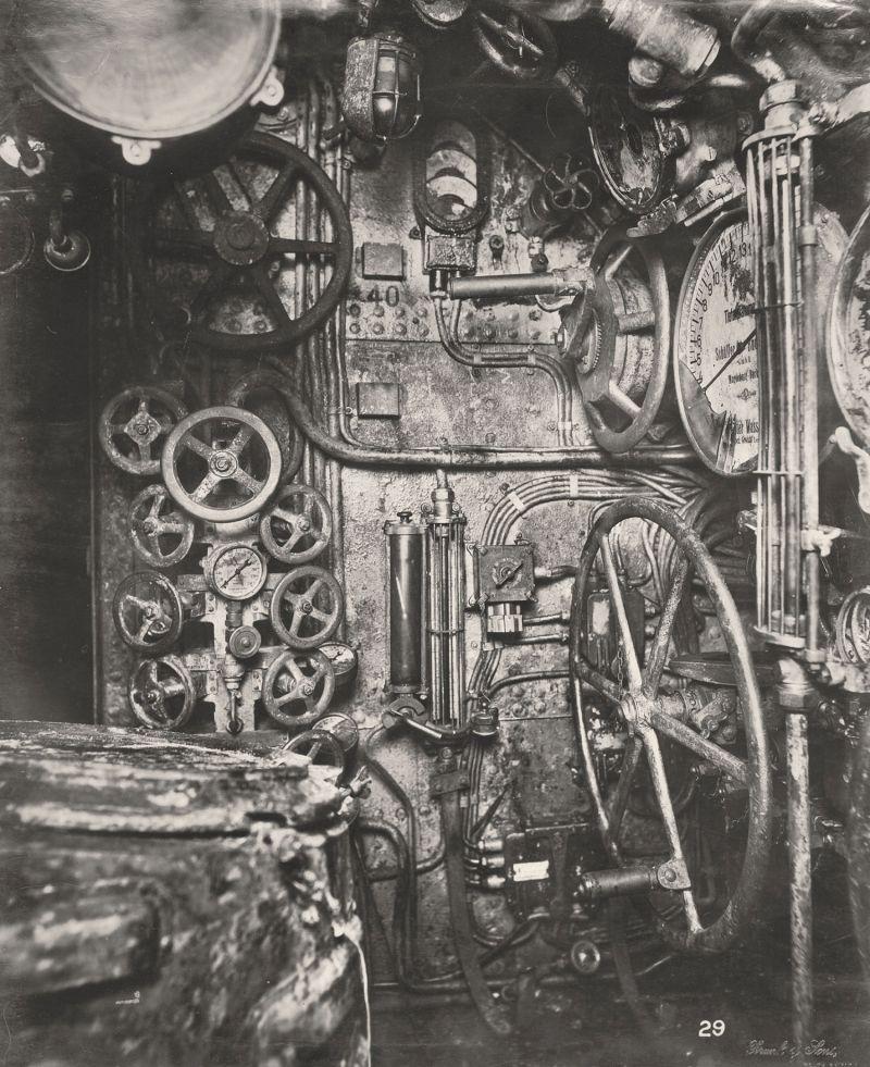 【ドイツの科学力】第一次世界大戦時のドイツのUボート110型、バルブの数スゲーーーーー(画像)・9枚目