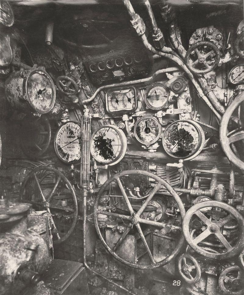 【ドイツの科学力】第一次世界大戦時のドイツのUボート110型、バルブの数スゲーーーーー(画像)・10枚目