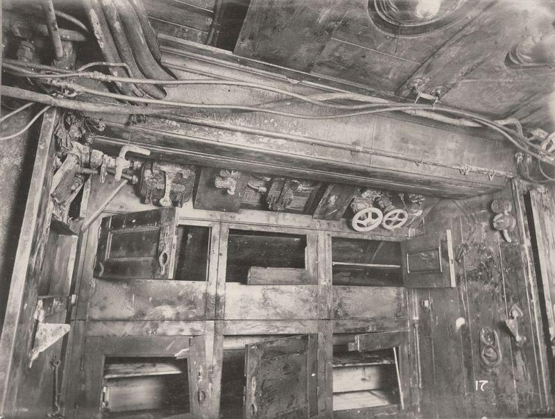 【ドイツの科学力】第一次世界大戦時のドイツのUボート110型、バルブの数スゲーーーーー(画像)・16枚目