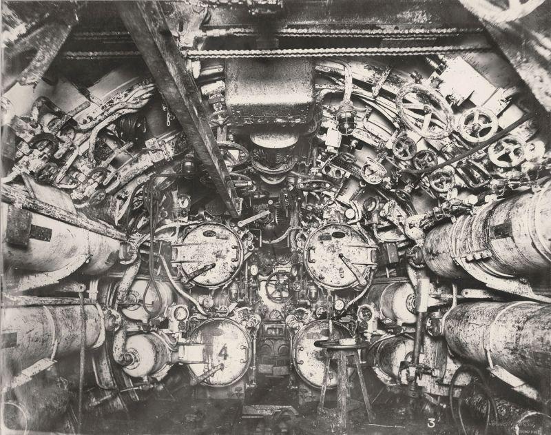 【ドイツの科学力】第一次世界大戦時のドイツのUボート110型、バルブの数スゲーーーーー(画像)・19枚目