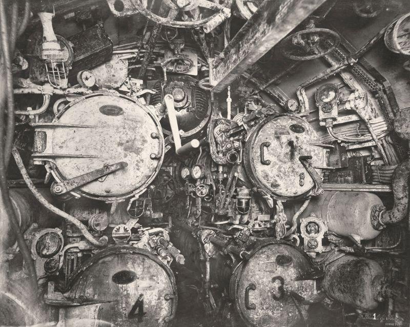 【ドイツの科学力】第一次世界大戦時のドイツのUボート110型、バルブの数スゲーーーーー(画像)・20枚目