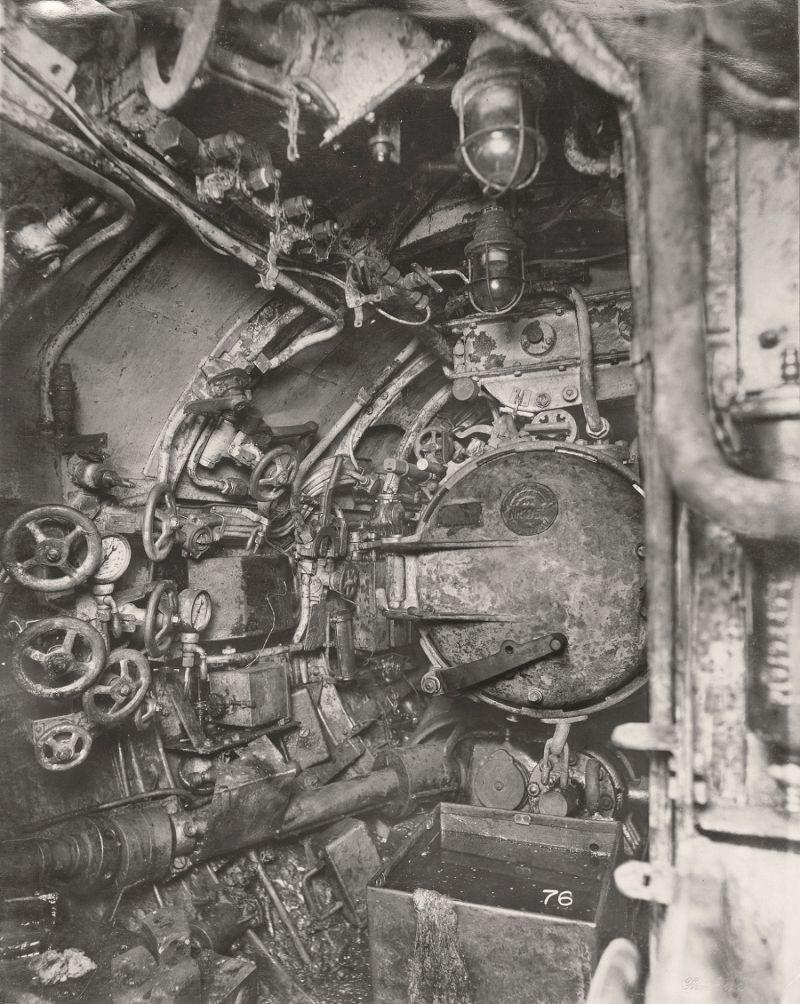 【ドイツの科学力】第一次世界大戦時のドイツのUボート110型、バルブの数スゲーーーーー(画像)・22枚目