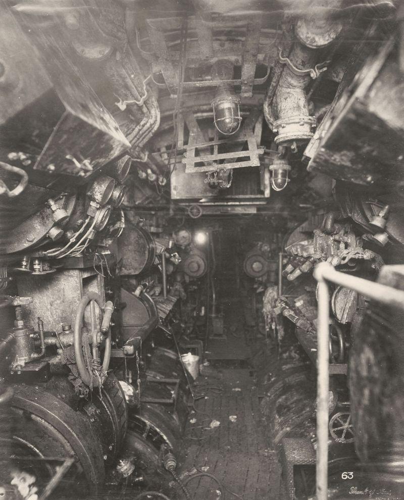 【ドイツの科学力】第一次世界大戦時のドイツのUボート110型、バルブの数スゲーーーーー(画像)・23枚目