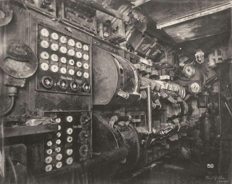 【ドイツの科学力】第一次世界大戦時のドイツのUボート110型、バルブの数スゲーーーーー(画像)・24枚目
