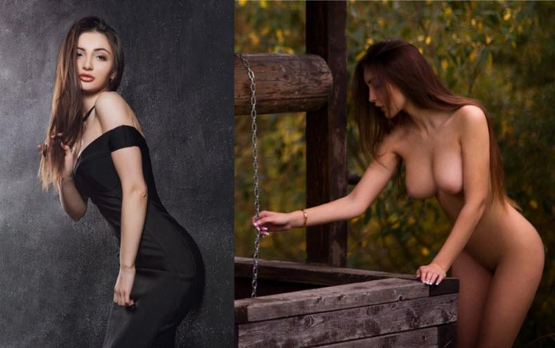【美女おっぱい】世界の美女の着衣ヌード比較画像、スタイル良すぎだろ!!・26枚目