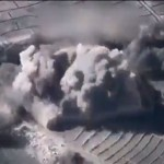【爆撃】タリバン訓練施設に対するアメリカ軍の空爆、これは痛み感じる暇も無いな・・・・・(動画)