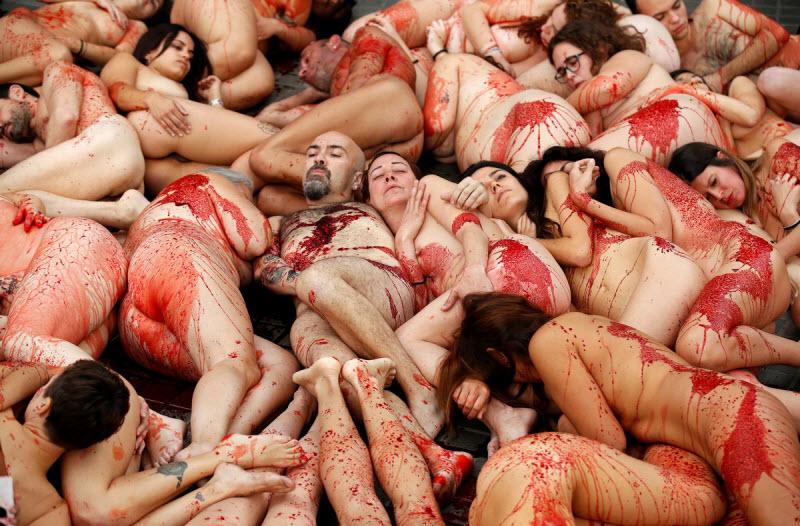 【キチ●イ】動物保護団体さん、相変わらず意味の分からない抗議で世間を騒がせる・・・・・(画像)・9枚目