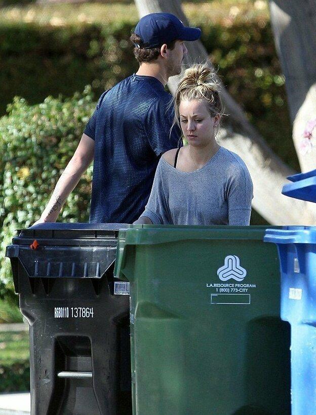 【パパラッチ】ハリウッドセレブの朝のゴミ出しの様子、案外庶民的なのね・・・・・(画像)・8枚目