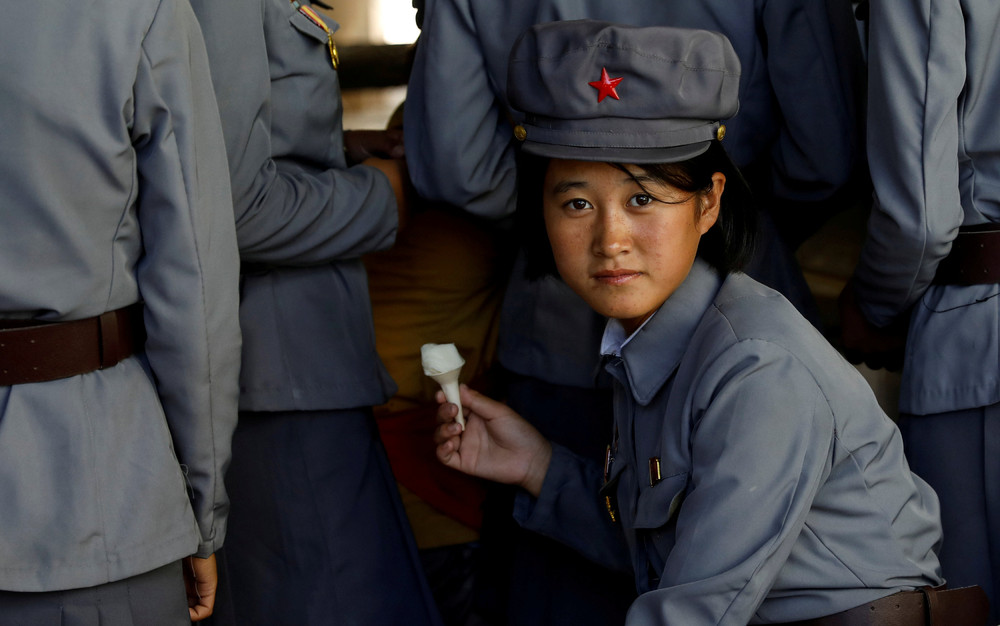【画像あり】北朝鮮の一般的な上級国民の生活の様子、案外まともそう・・・・・(画像多数)・16枚目