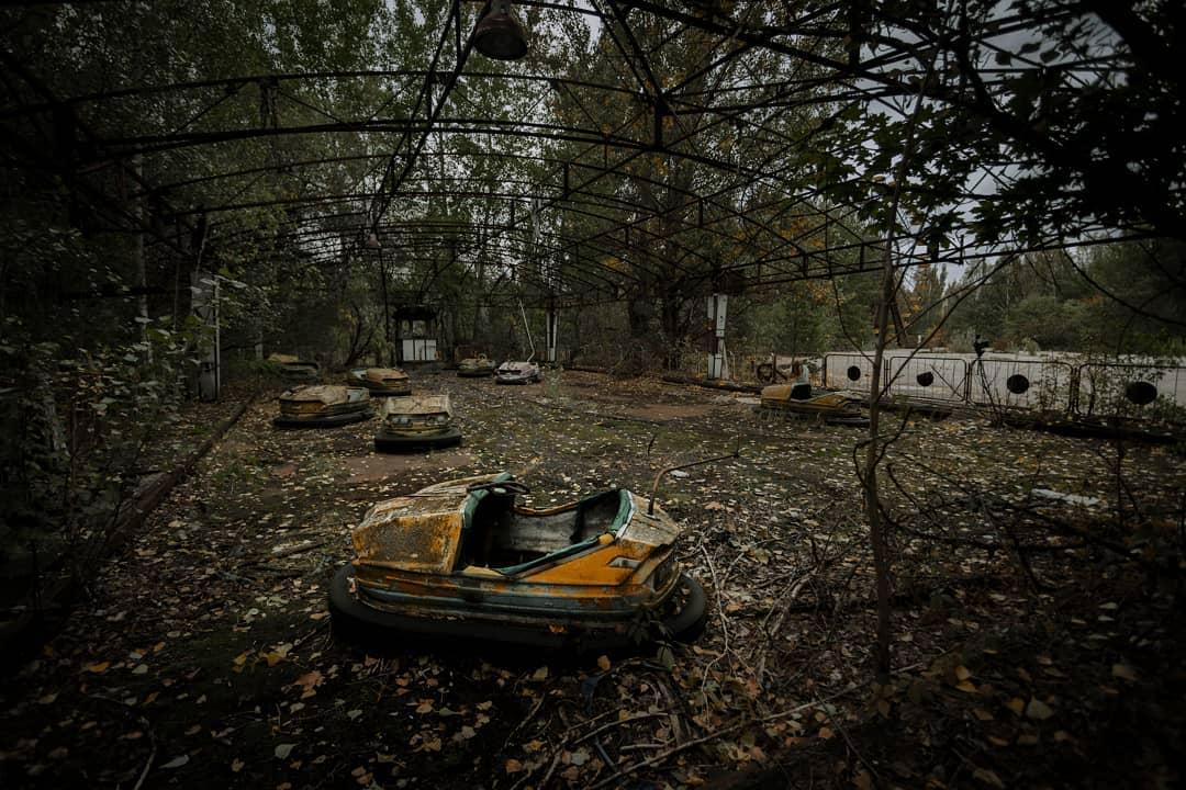 【原発事故】海外の写真家が撮った現在のチェルノブイリとその周辺、なんか神秘的だな・・・・・(画像)・8枚目