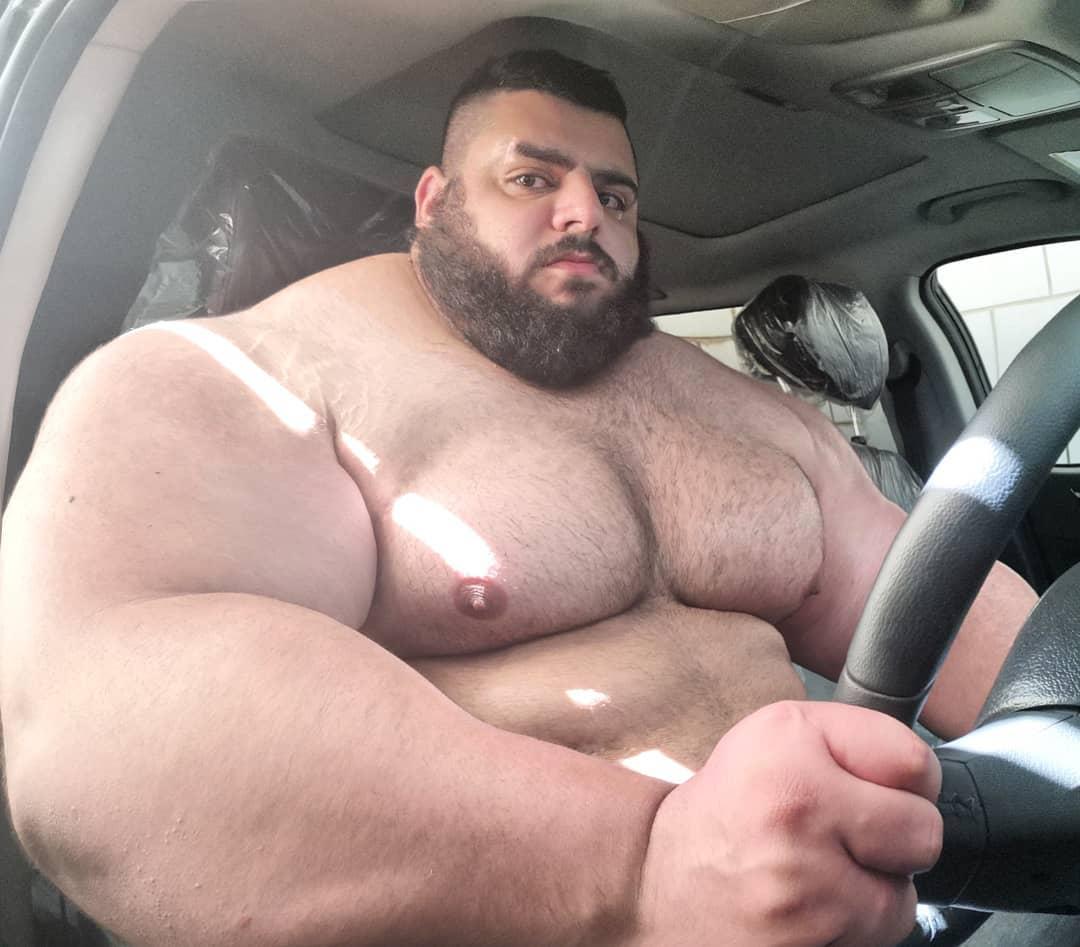 【超筋肉】イランのリアル超人ハルク、ワイ虚弱ニキ喧嘩したら一秒で殺されそう・・・・・(画像)・2枚目