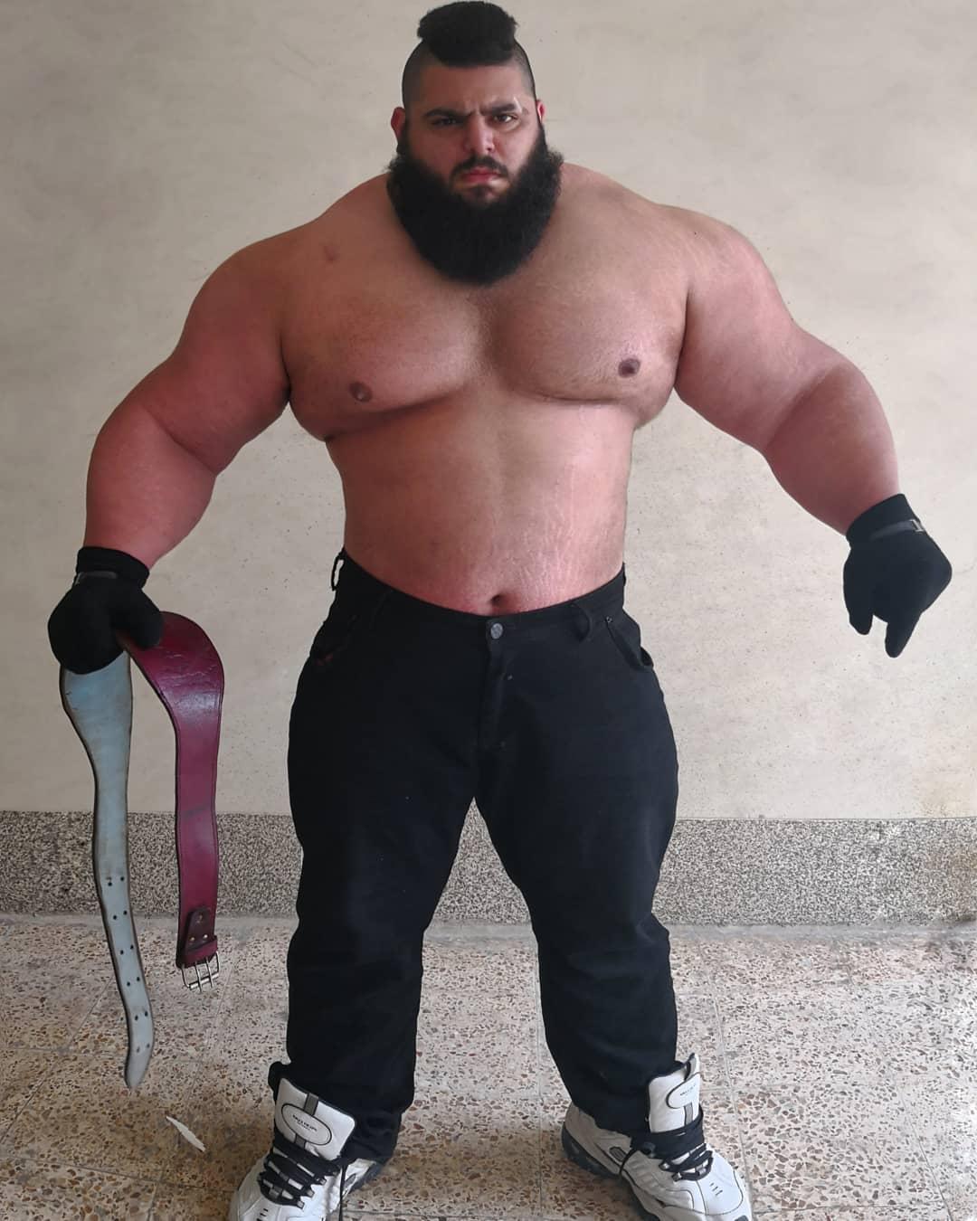 【超筋肉】イランのリアル超人ハルク、ワイ虚弱ニキ喧嘩したら一秒で殺されそう・・・・・(画像)・3枚目