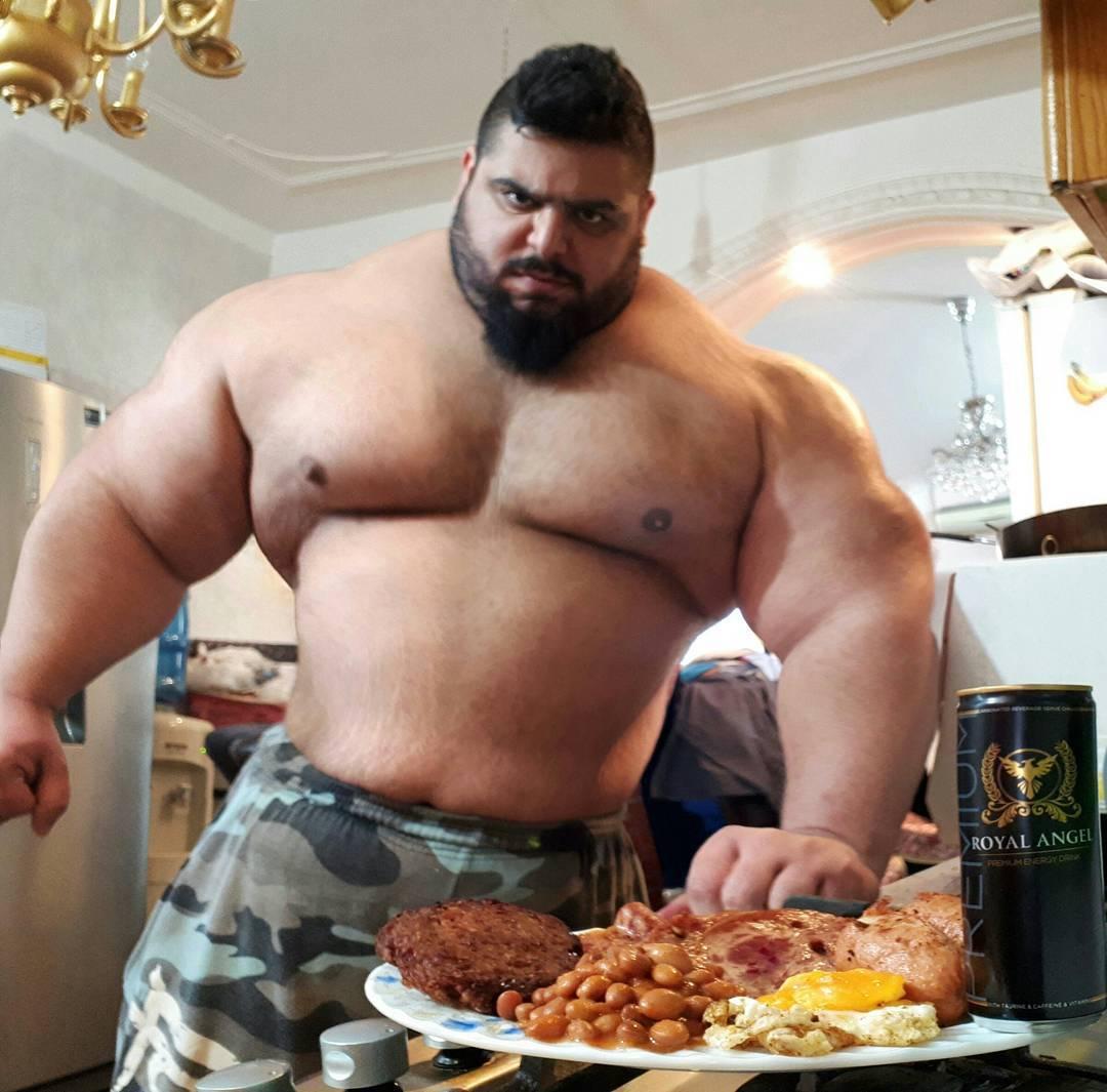 【超筋肉】イランのリアル超人ハルク、ワイ虚弱ニキ喧嘩したら一秒で殺されそう・・・・・(画像)・4枚目