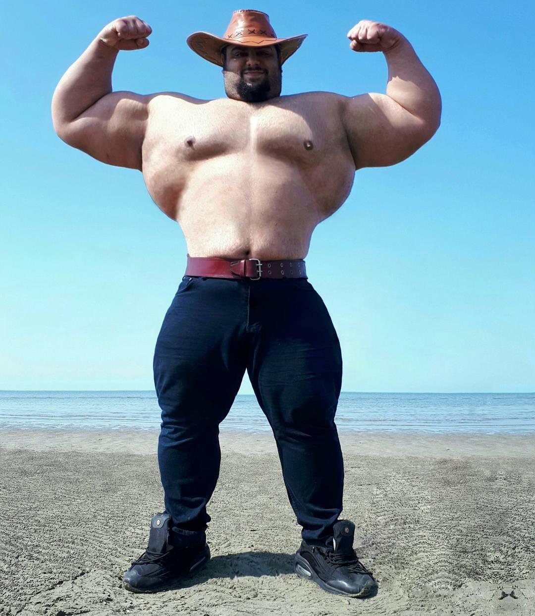 【超筋肉】イランのリアル超人ハルク、ワイ虚弱ニキ喧嘩したら一秒で殺されそう・・・・・(画像)・7枚目