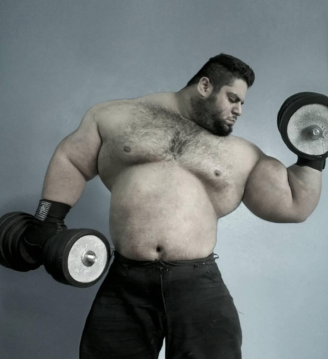 【超筋肉】イランのリアル超人ハルク、ワイ虚弱ニキ喧嘩したら一秒で殺されそう・・・・・(画像)・9枚目