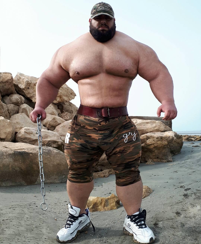 【超筋肉】イランのリアル超人ハルク、ワイ虚弱ニキ喧嘩したら一秒で殺されそう・・・・・(画像)・14枚目