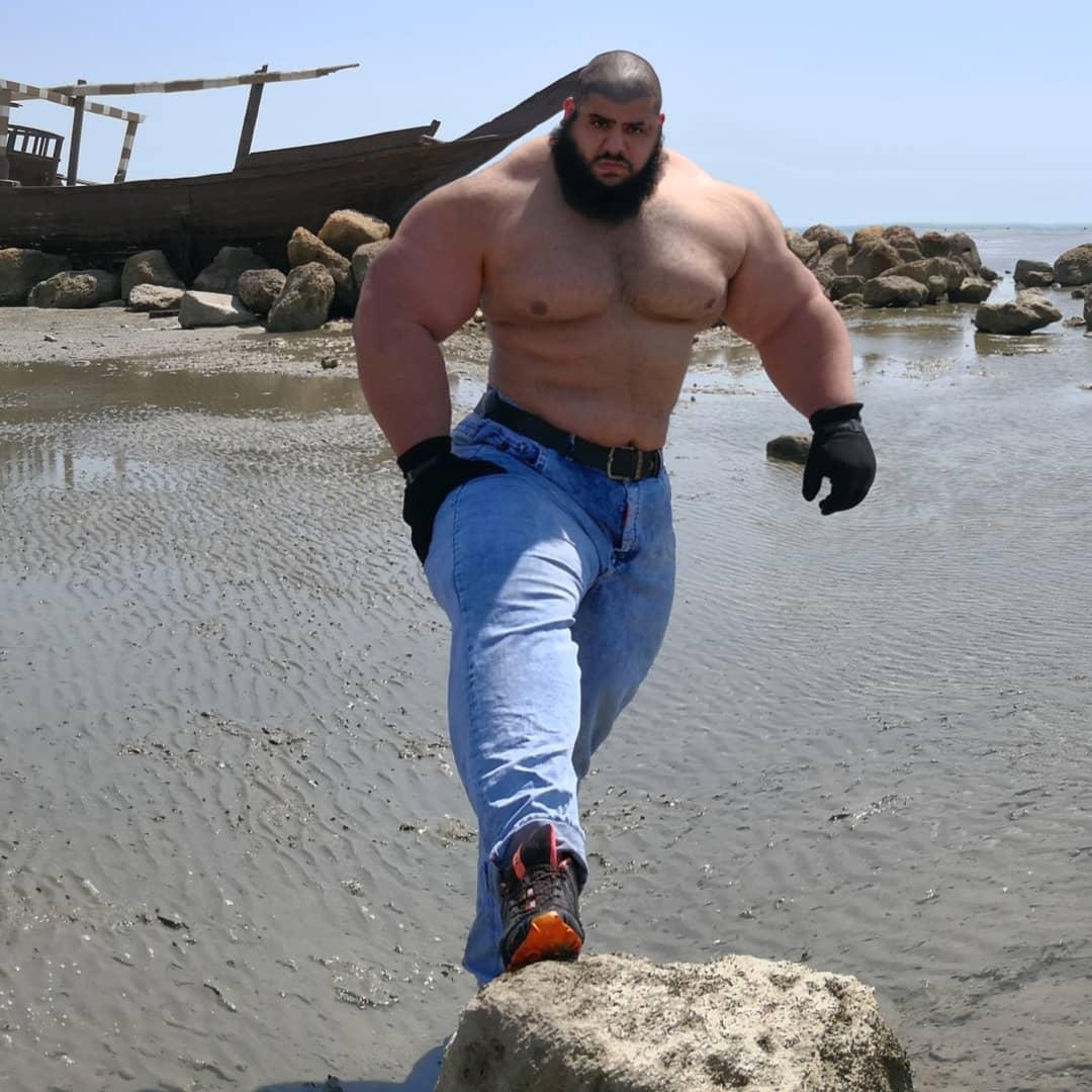 【超筋肉】イランのリアル超人ハルク、ワイ虚弱ニキ喧嘩したら一秒で殺されそう・・・・・(画像)・15枚目