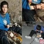 【闇深】中国の聴覚障碍者さん、実の母親から10年以上石倉に鎖で繋がれる・・・・・(画像)