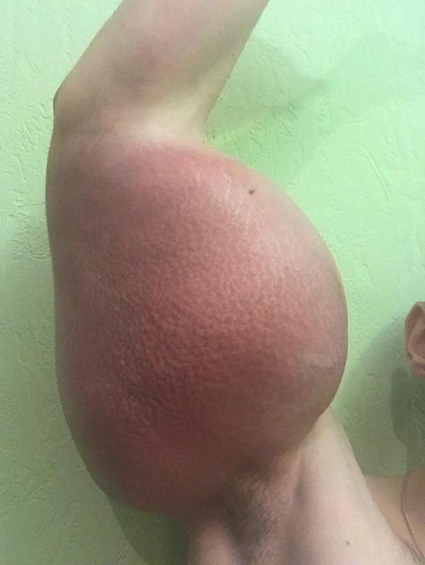 【二頭筋無双】リアルポパイのような腕を持つロシアの男性、何か身体のバランスが・・・・・(画像)・2枚目