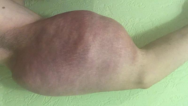 【二頭筋無双】リアルポパイのような腕を持つロシアの男性、何か身体のバランスが・・・・・(画像)・4枚目