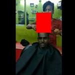 【超危険】インドの画期的な散髪方法、これ普通に危ないだろ・・・・・(動画)