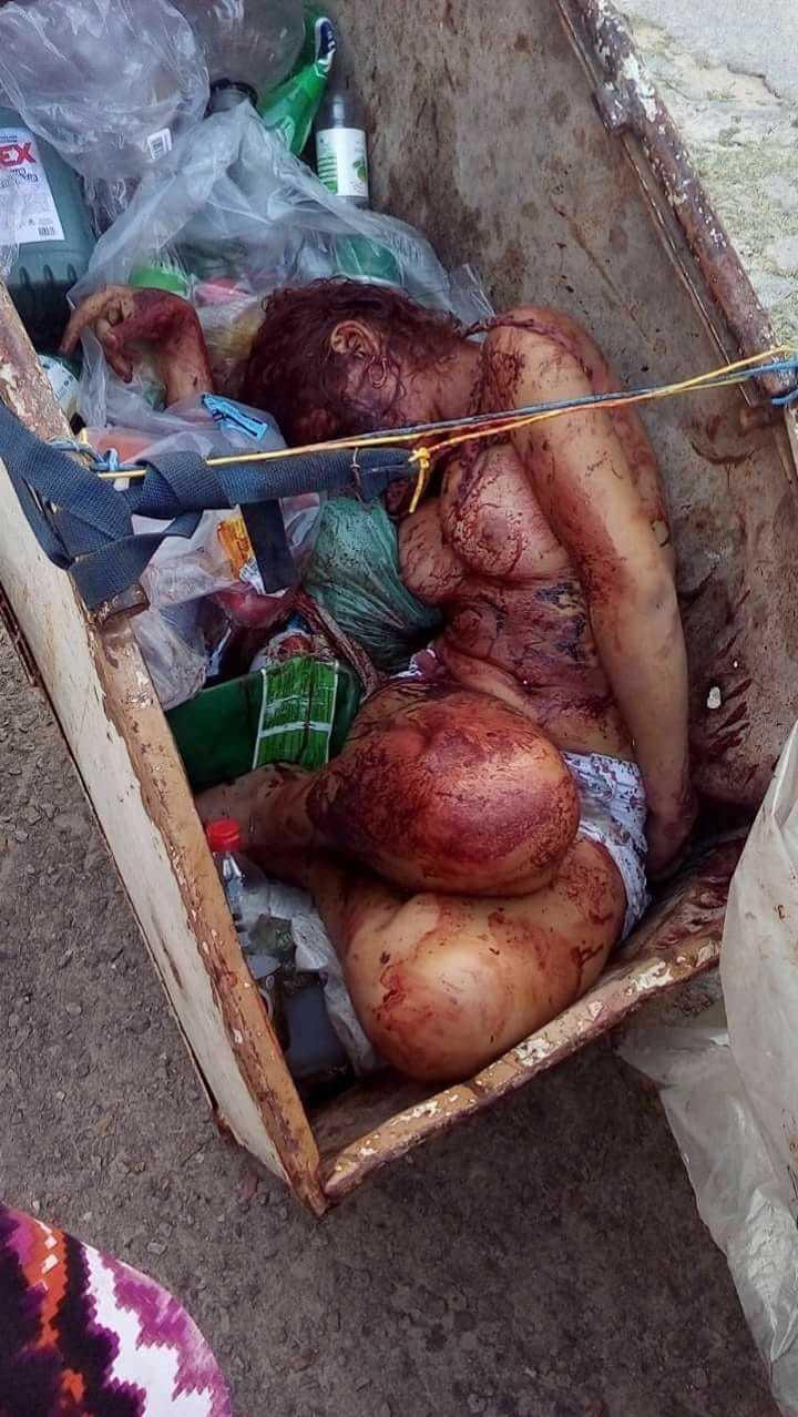 【閲覧注意】ブラジルの若い女性、ヤラれて路上のごみ箱に捨てられる・・・・・(画像)・3枚目